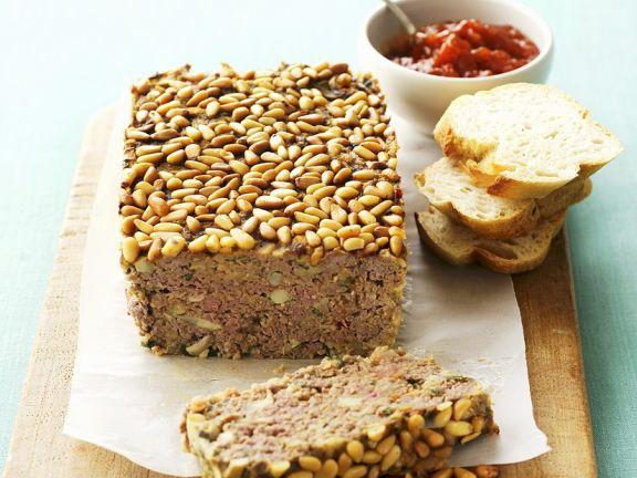Veal and Mushroom Meatloaf