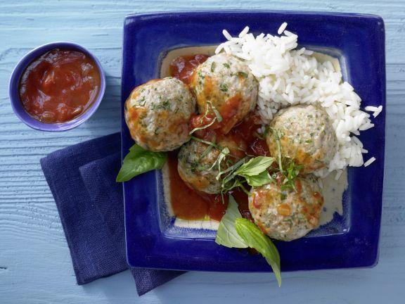 Basil-Veal Meatballs