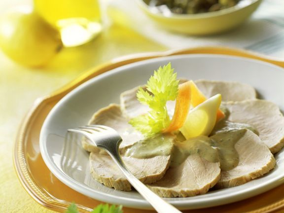 Veal with Tuna-caper Sauce