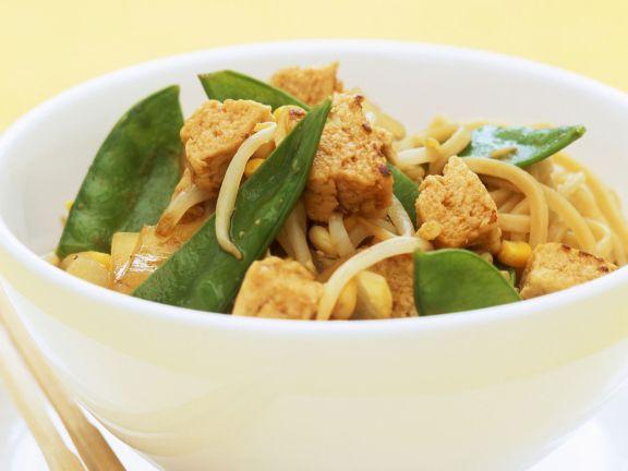Vegan Mince Stir-fry