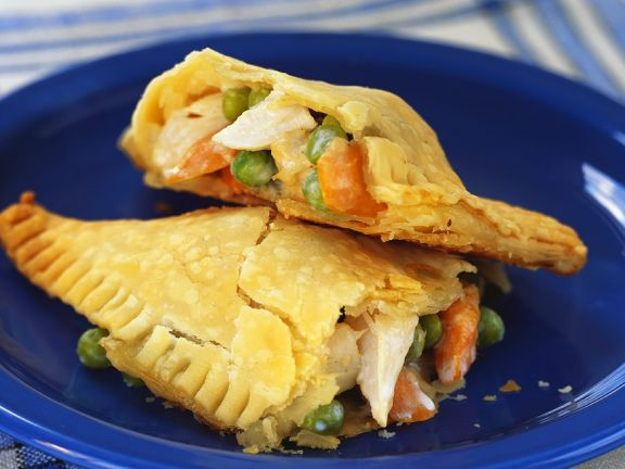 Vegetable and Chicken Empanadas