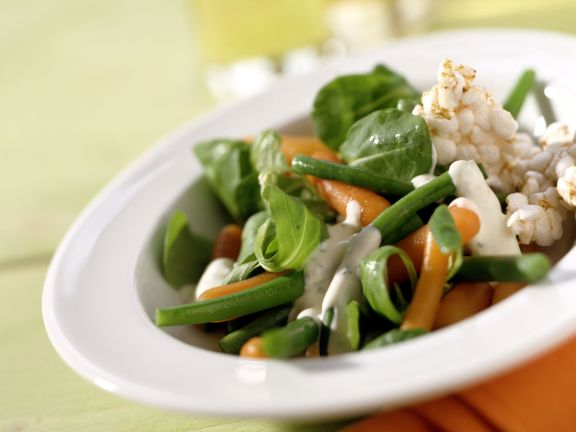 Vegetable and Spinach Salad