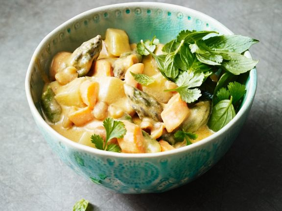 Vegetable Curry Bowl
