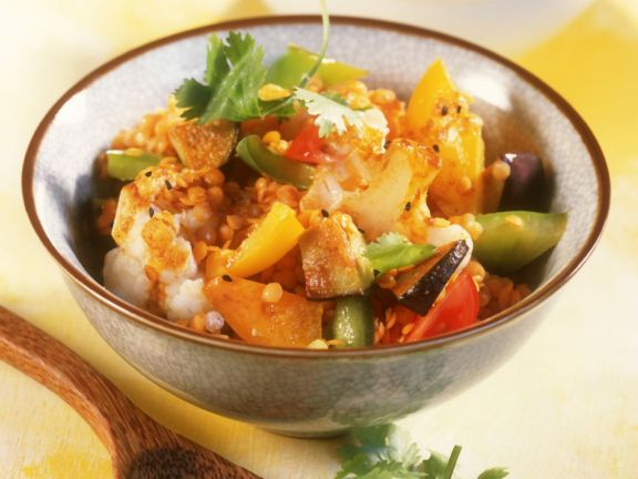 Vegetable Dhal Bowl
