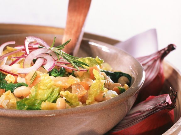 Vegetable White Bean Soup