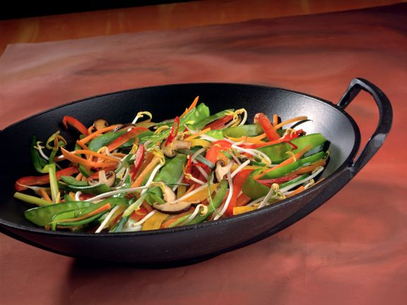 Vegetables from a Wok