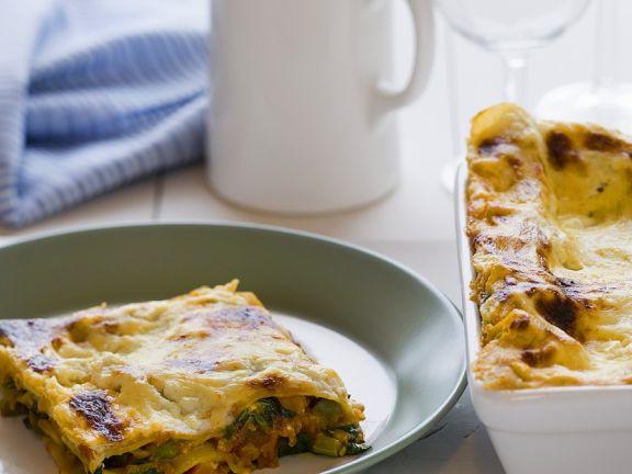 Vegetarian Lasagne Bake
