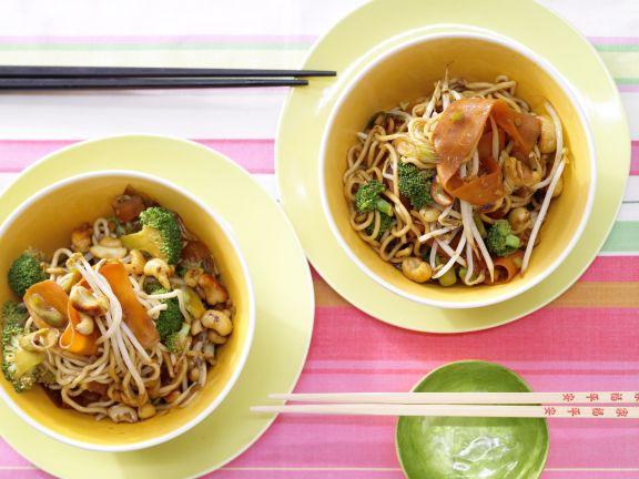 Vegetarian Udon Noodles