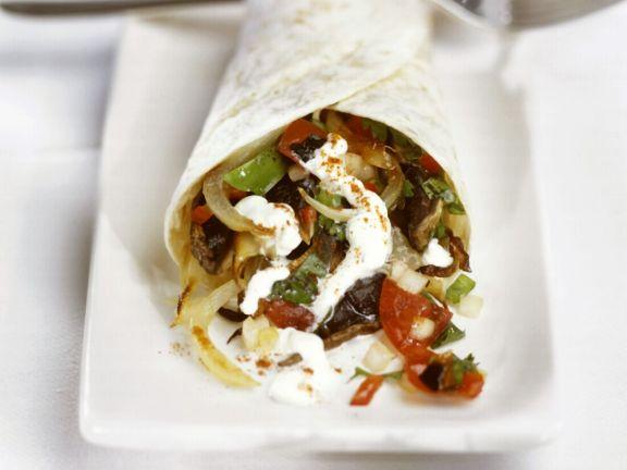Veggie Mexican Tortilla Wraps