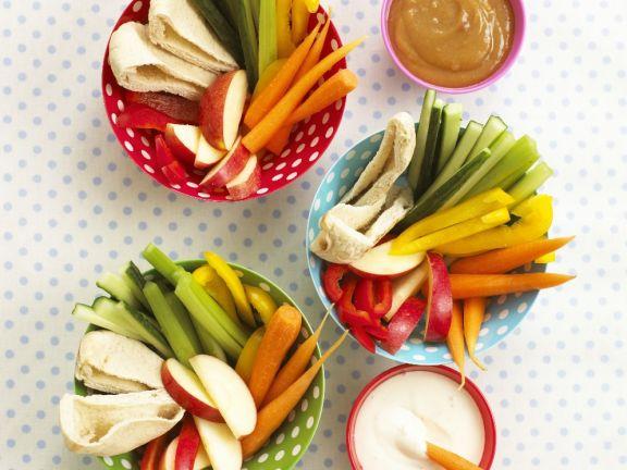 Veggie Party Snacks
