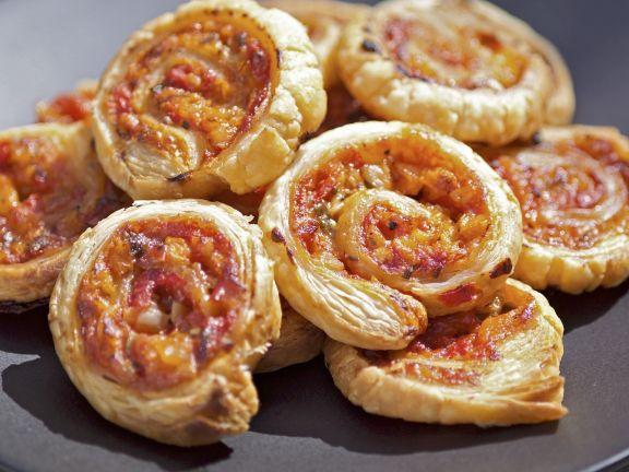 Veggie Pastry Spirals