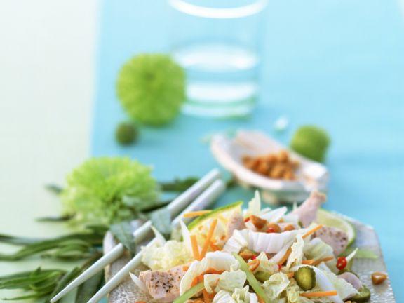 Vietnamese Salad with Turkey Breast