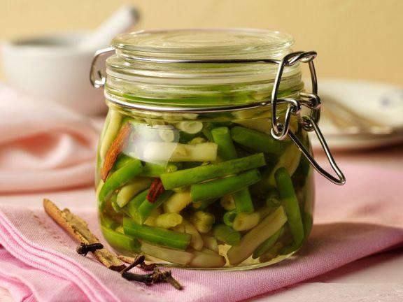 Vinegar-preserved Beans