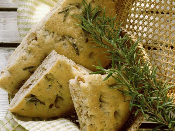 Walnut Herb Focaccia
