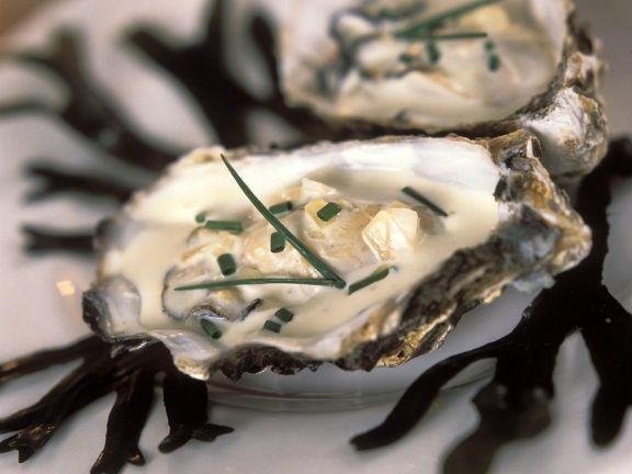 Warm Creamy Oysters