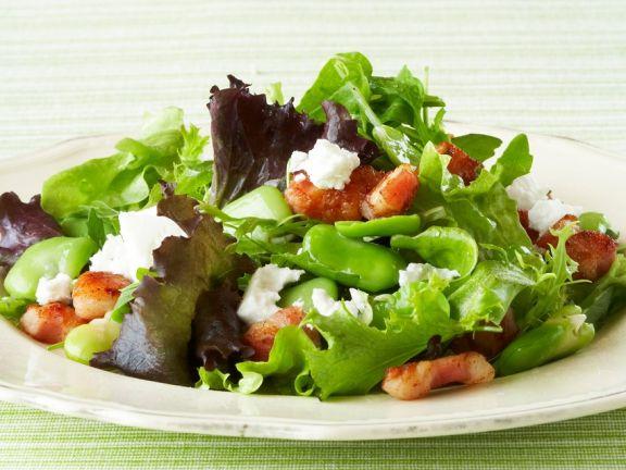 Warm Fava Bean and Lemon Salad