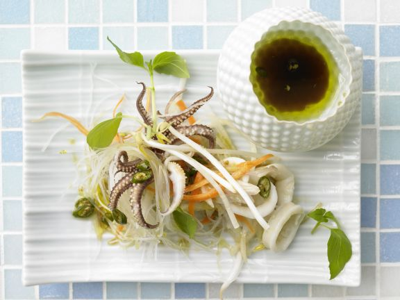 Warm Thai Salad