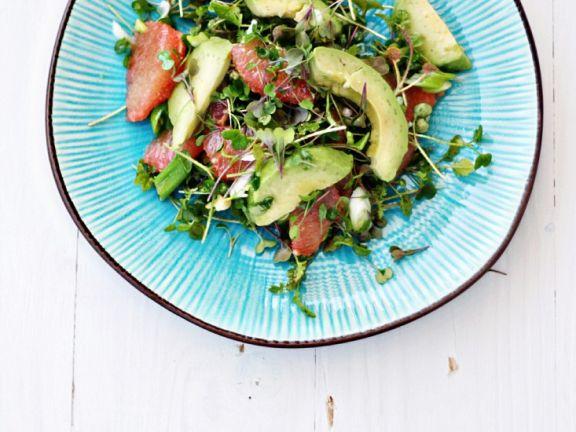 Watercress and Avocado Salad