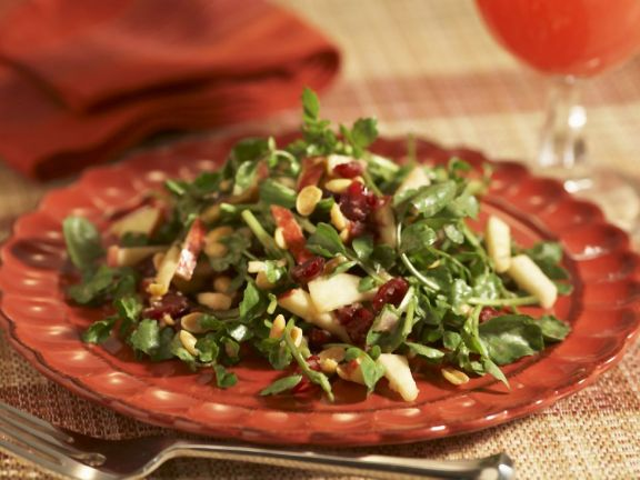 Watercress, Cranberry, and Apple Salad