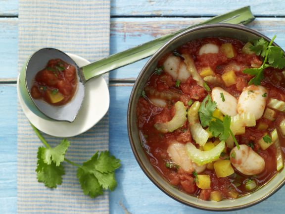 White Bean and Bell Pepper Chili