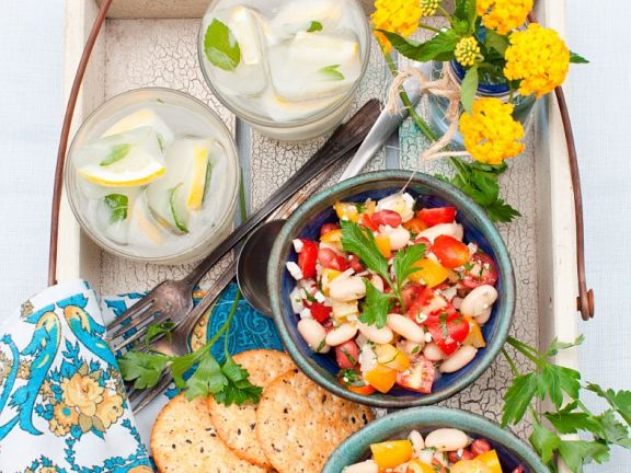 White Bean Salad Bowls