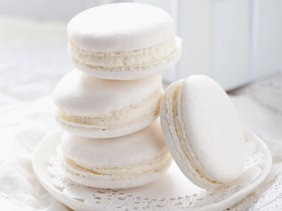 White Chocolate Macaroons