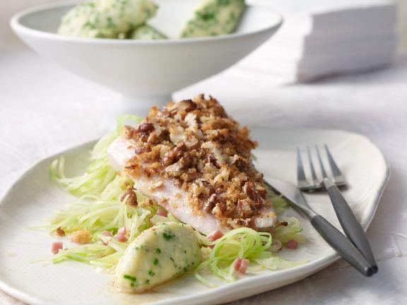Whitefish and Cabbage Gratin