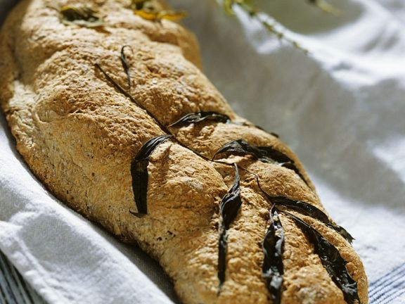 Whole Wheat Bread with Herbs
