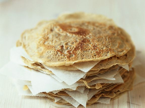 Wholemeal and Buckwheat Crepes