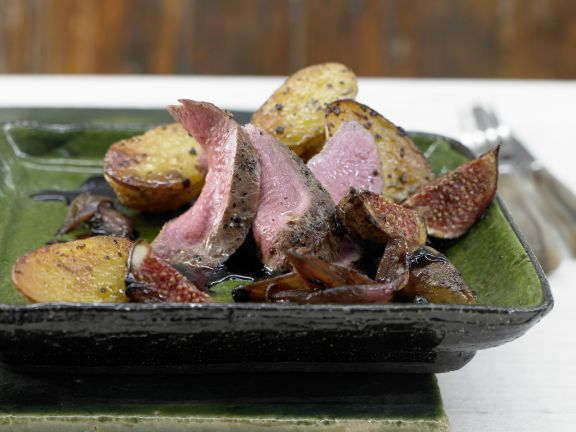 Wild Boar Fillet with Figs