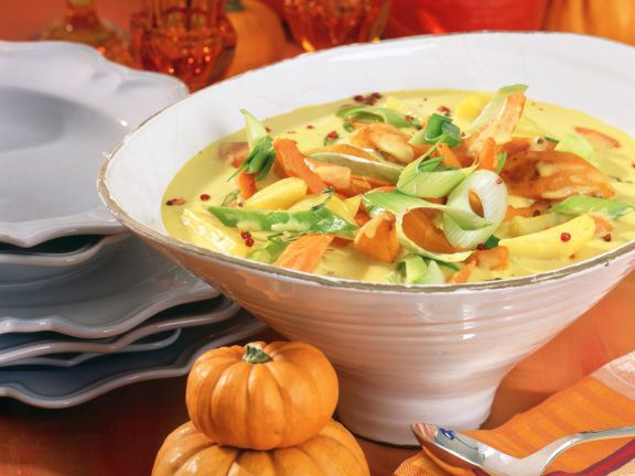Winter Squash and Vegetable Curry