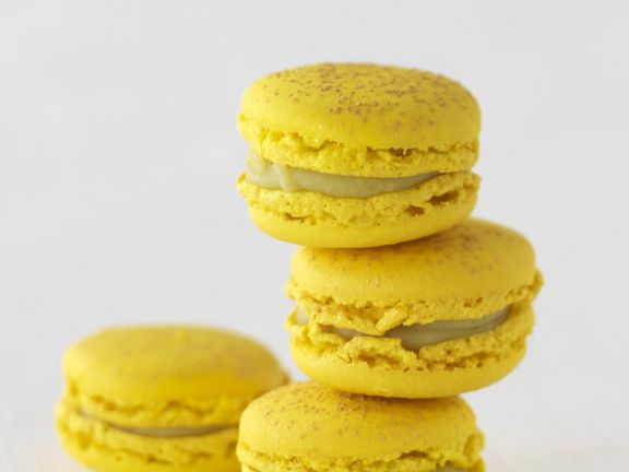 Yellow Cookie Sandwiches