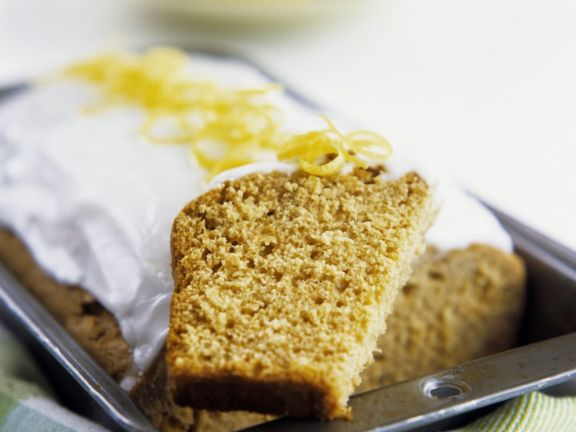 Zesty Ginger Loaf Cake