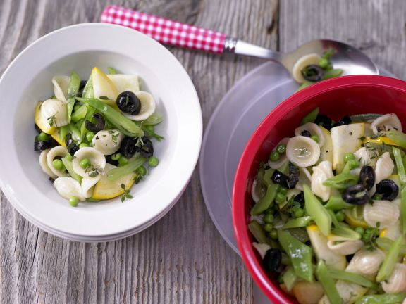 Zesty Pasta Salad with Vegetables