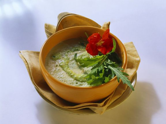 Zucchini and Herb Soup