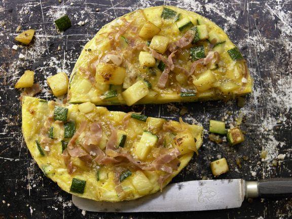 Zucchini Potato Tortilla
