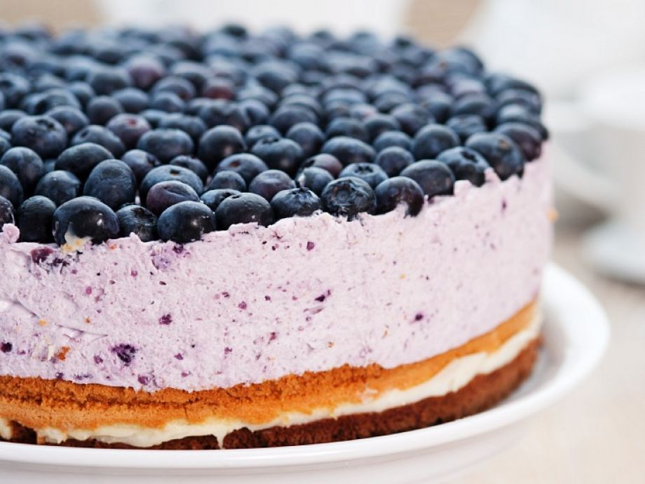 4-Layer Blueberry Cheesecake