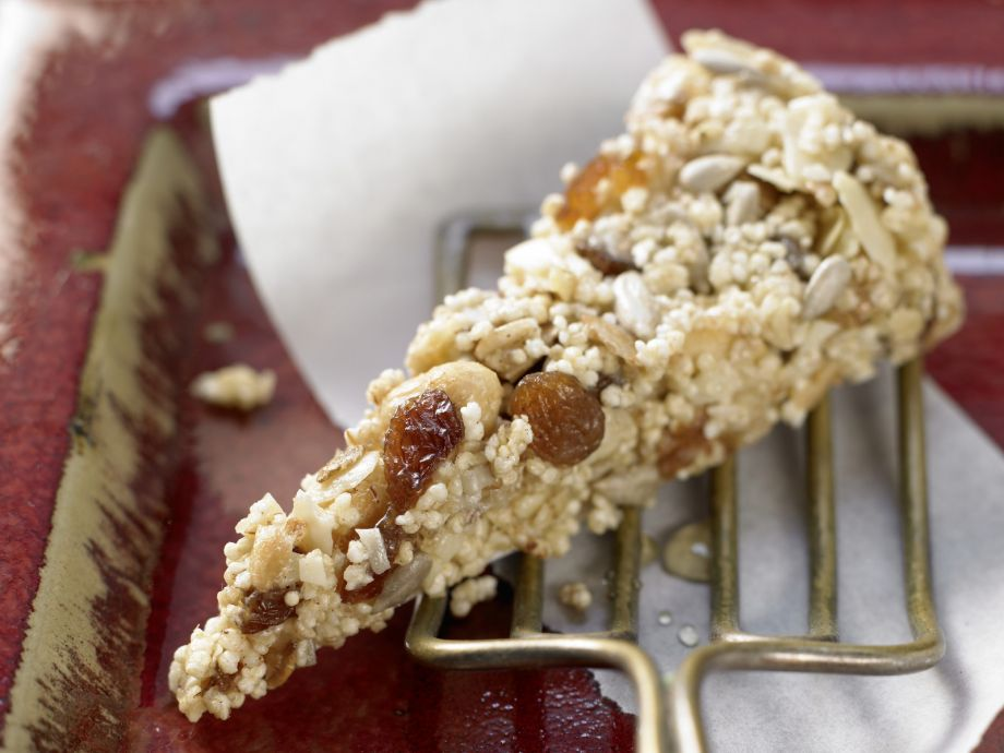 Amaranth Cereal Bars - Amaranth Cereal Bars - A sweet, filling snack that will boost your energy
