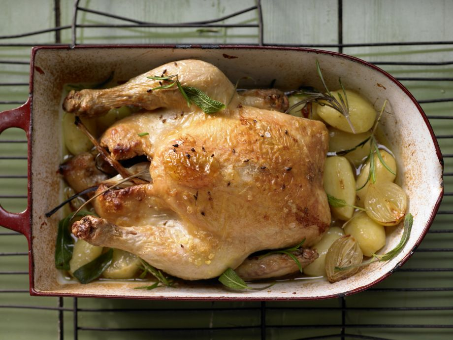 Anise-Braised Chicken - Anise-Braised Chicken - Timeless Southern French cuisine