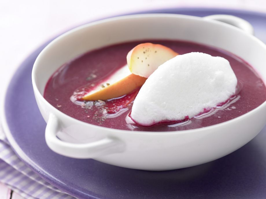 Apple and Elderberry Soup - Apple and Elderberry Soup - Properly refined, while super easy to prepare