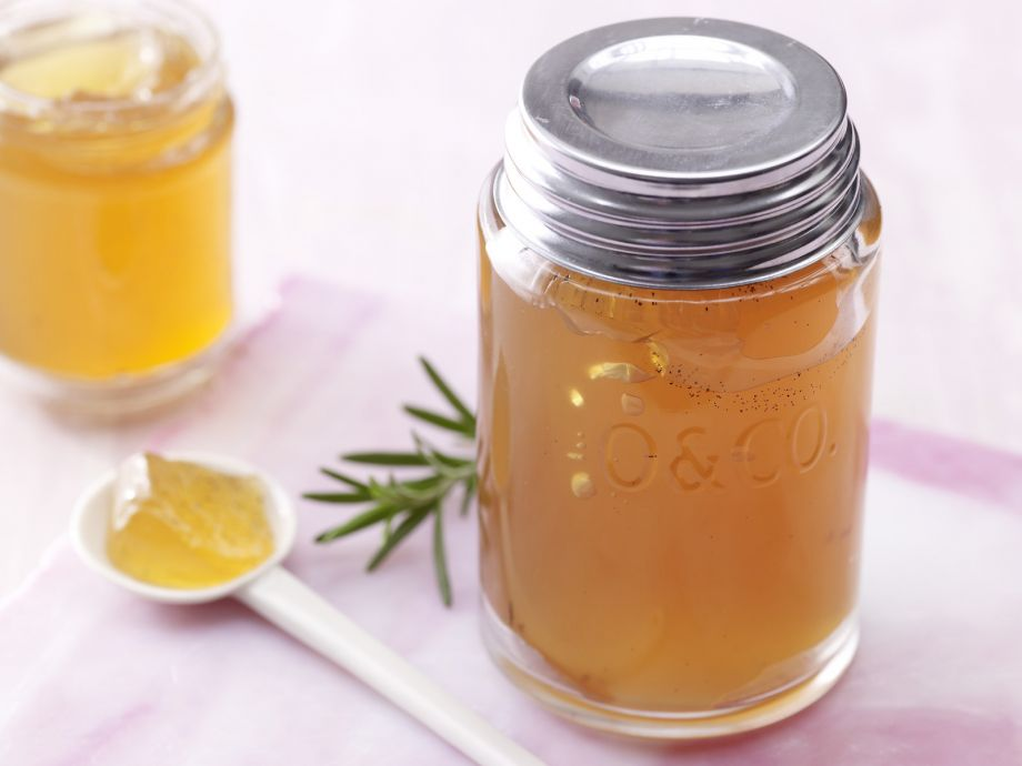 Apple-Rosemary Jelly - Apple-Rosemary Jelly - Here herbal and sweet meet - how clever!
