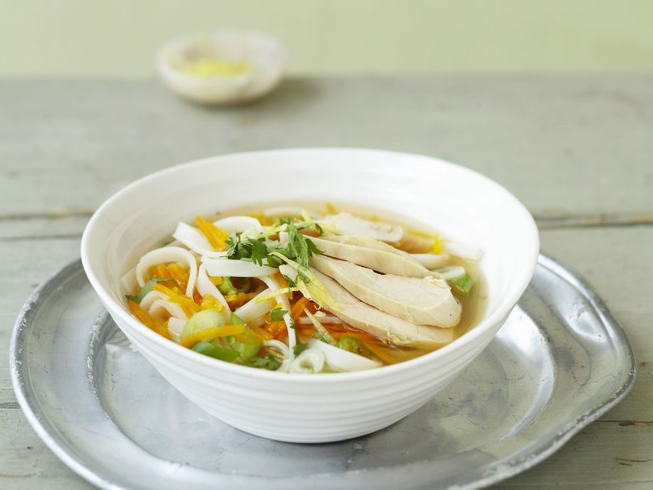 Aromatic noodle broth