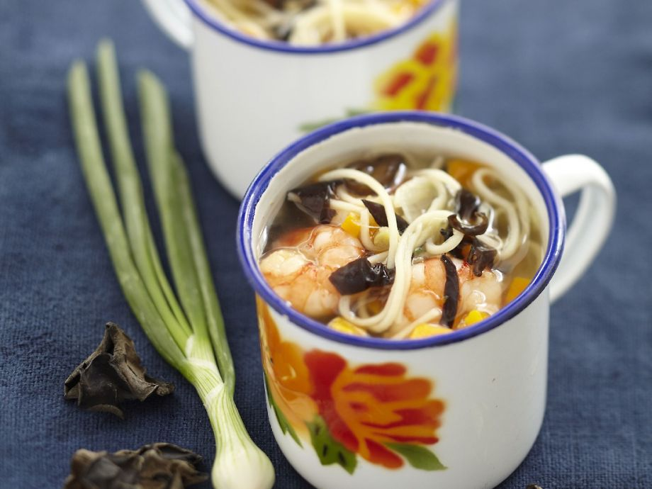 Asian broth mugs
