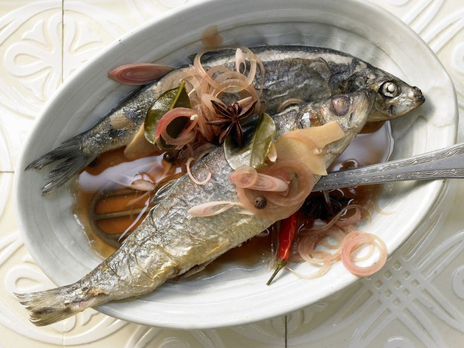 Asian-Style Herring - A new angle on herring -- spicy and exotic