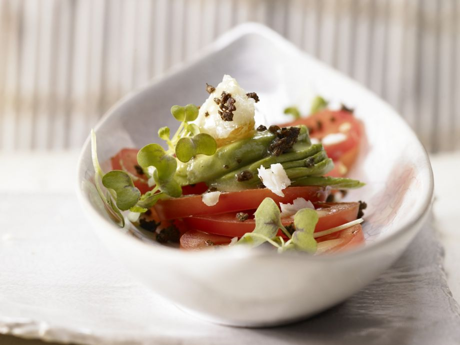 Avocado and Tomato Salad - Avocado and Tomato Salad - Unusually good and delightfully fresh