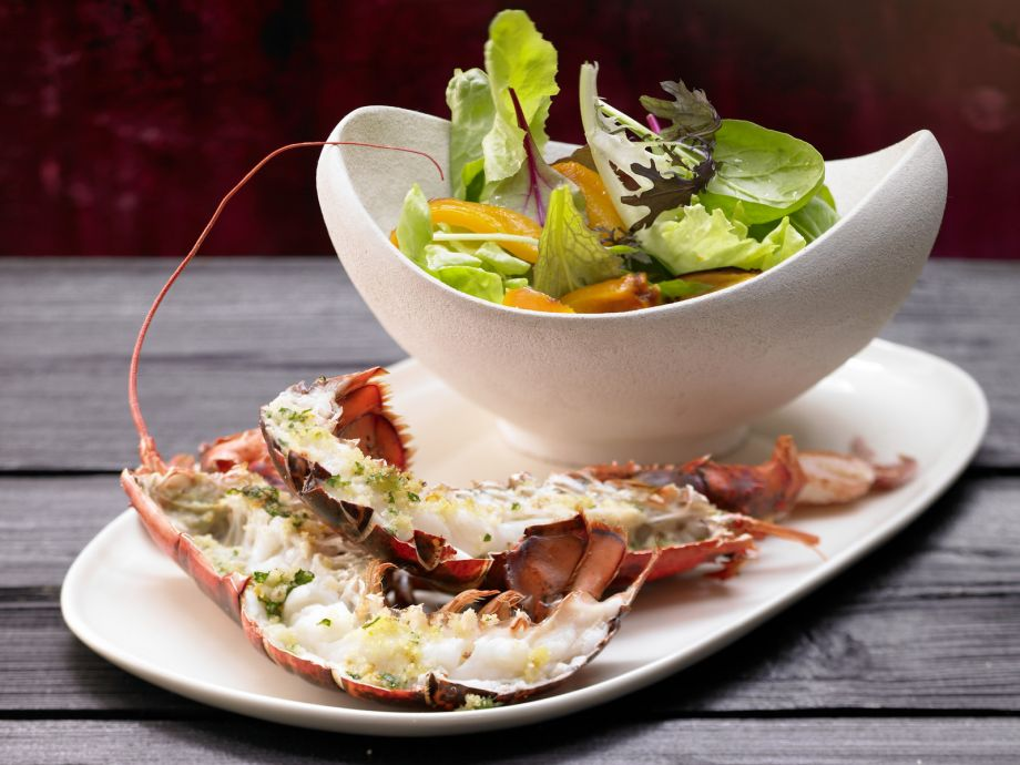 Baked Lobster - Baked Lobster - With great fanfare—a luxury dinner for two or a fine appetizer for four!