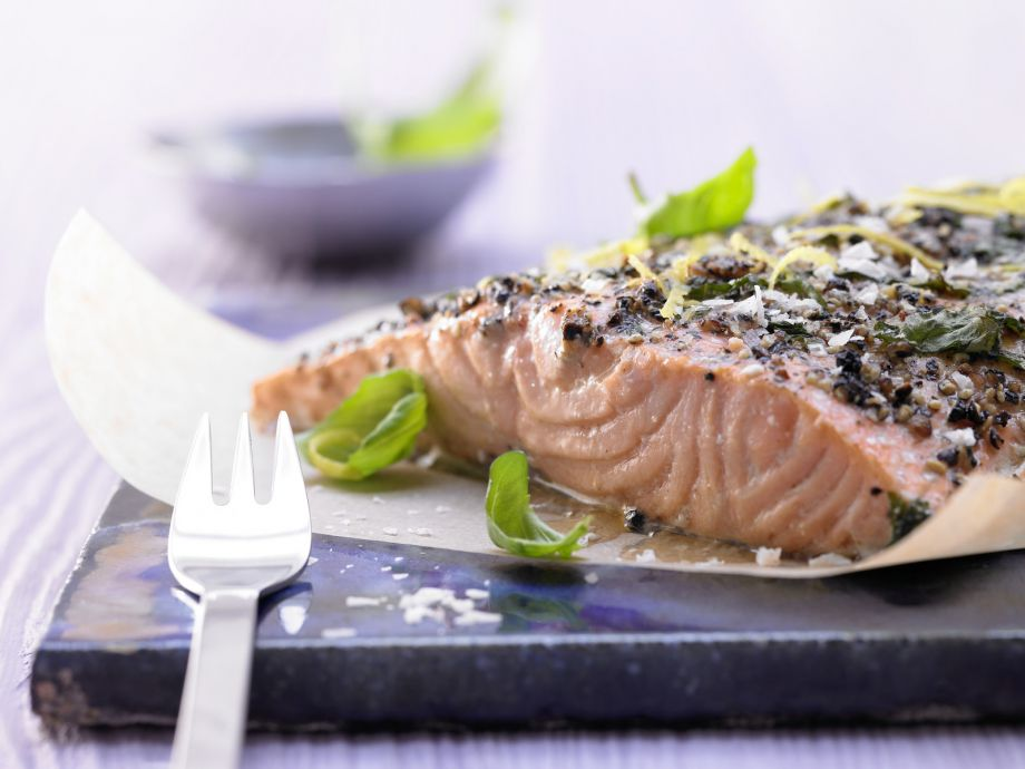 Baked Salmon - Baked Salmon - Salmon from the oven: Easy enough for even inexperienced cooks to make