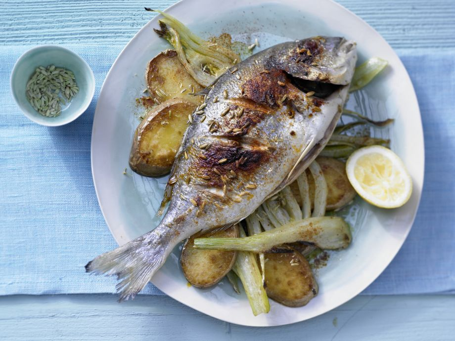 Baked Sea Bream - Baked Sea Bream - A taste of summer and Southern France - irresistibly delicious