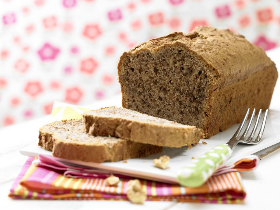 Banana Bread with Walnuts Baby Meal from 10 Months (Dairy ...