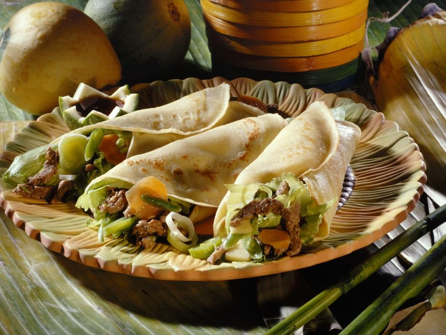 Beef and Vegetable Wrap